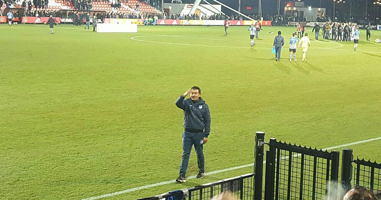 Moniz vertrekt bij FC Eindhoven
