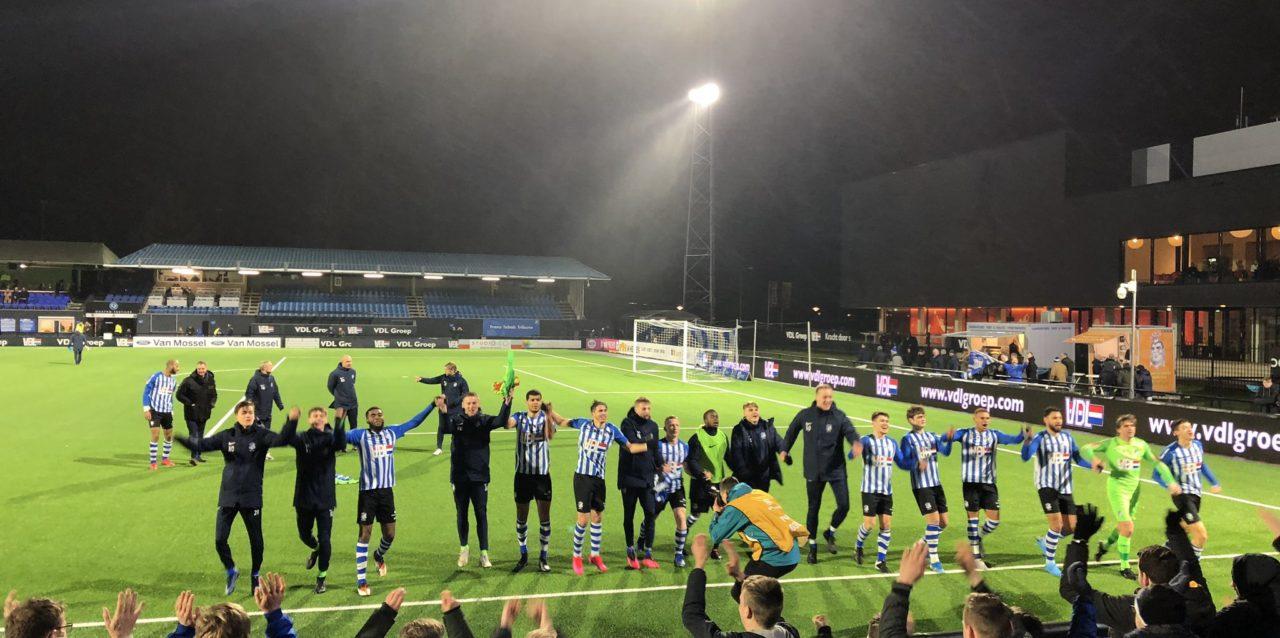 FC Eindhoven sluit week geweldig af