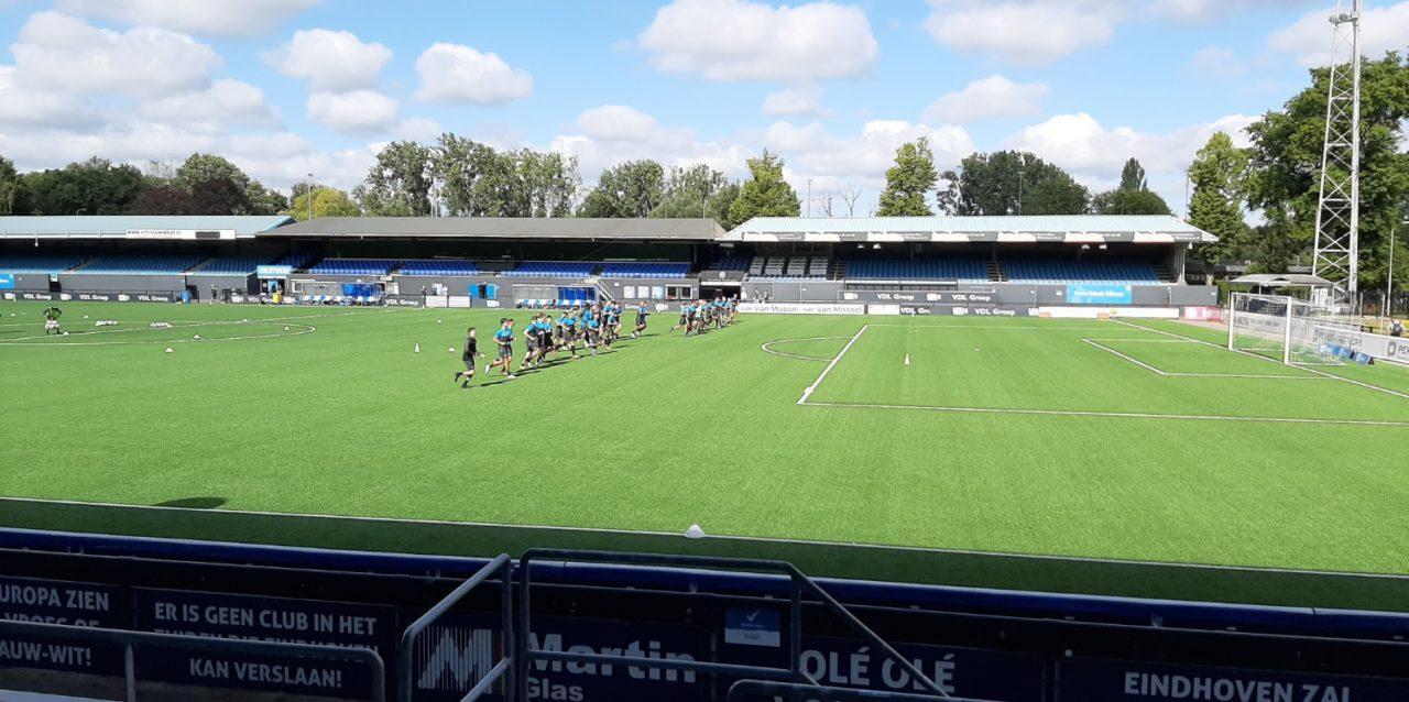 FC Eindhoven op weg naar 1e oefenwedstrijd